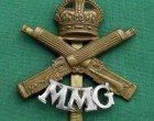 Motor Machine Gun 'MMG' Corps Cap Badge