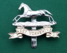 Scarce Anodised West Yorkshire Regiment Cap Badge 'Timings Ltd'
