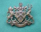 Scarce Fettes College, Edinburgh, Gilding-metal OTC Cap Badge