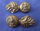 Royal Irish Fusiliers Collar Badges c.1882