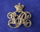 Victorian Volunteer Rifle Corps 'Fire Gilt' Officers Badge