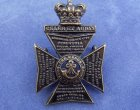 Victorian King's Royal Rifle Corps Cap Badge