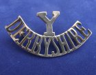 Derbyshire Yeomanry Shoulder Title