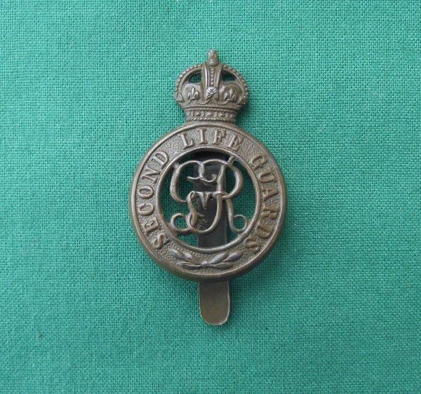 Second Life Guards c.1913-22 Cap Badge