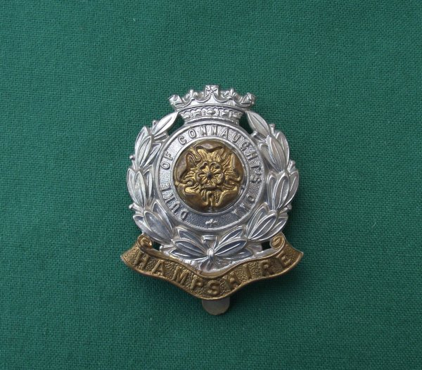 6th Battalion Hampshire Regiment Cap Badge