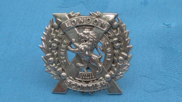 14th County of London.London Irish sporran badge.