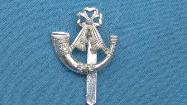 The Somerset&Cornwall Light Infantry cap badge.