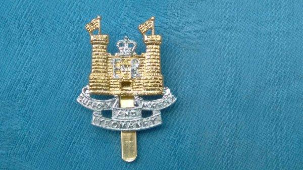 The Suffolk&Norfolk Yeomanry cap badge.
