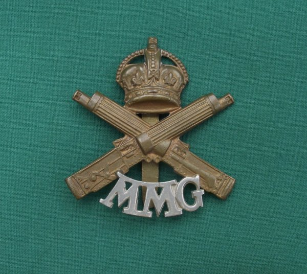 Motor Machine Gun 'MMG' Corps Cap Badge