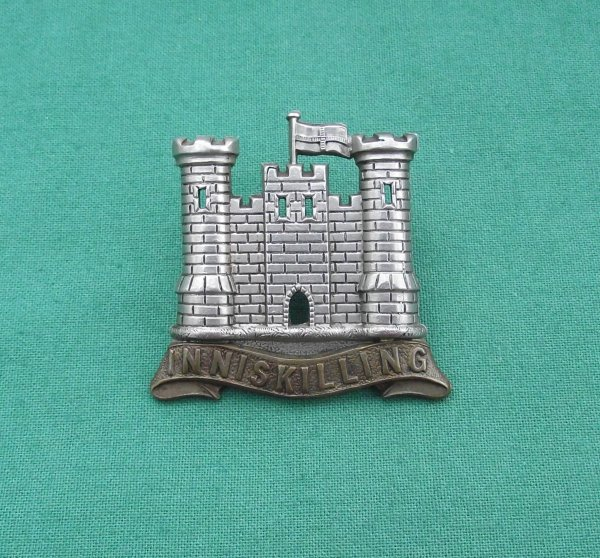 Victorian 6th (Inniskilling) Dragoons Other Ranks Cap Badge
