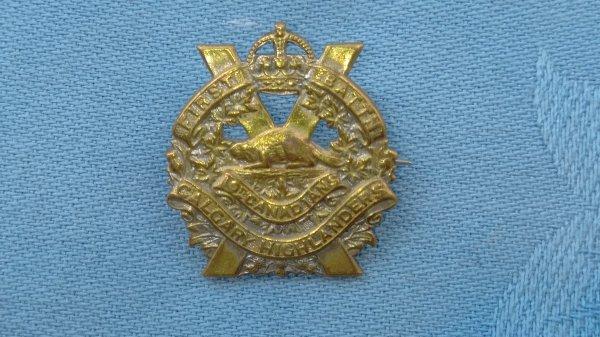 The Calgarry Highlanders sweetheart badge.