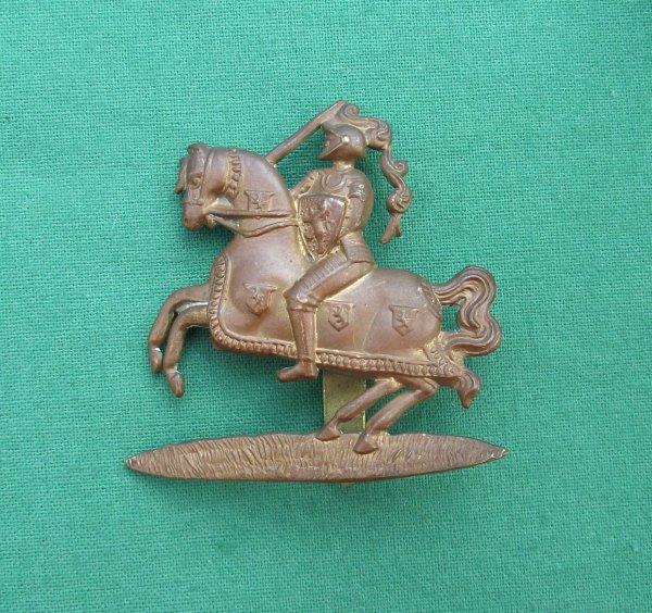 Fife & Forfar Yeomanry Gilding Metal Cap Badge