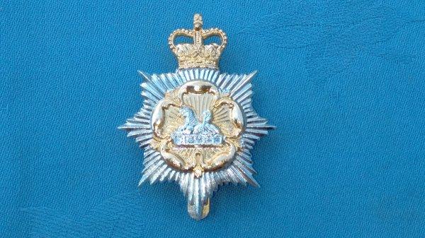 Gloucestershire&Hampshire Yeomanry cap badge.
