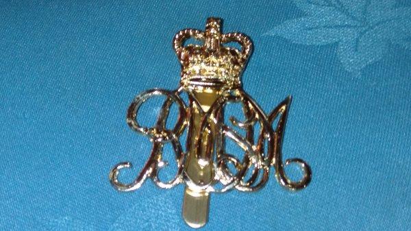 Royal Military School of Music cap badge.