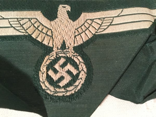 Panzer German Army WWII Eagle Army Breast Patch