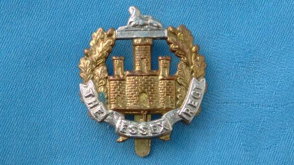 The Essex Regiment Cyclist cap badge.