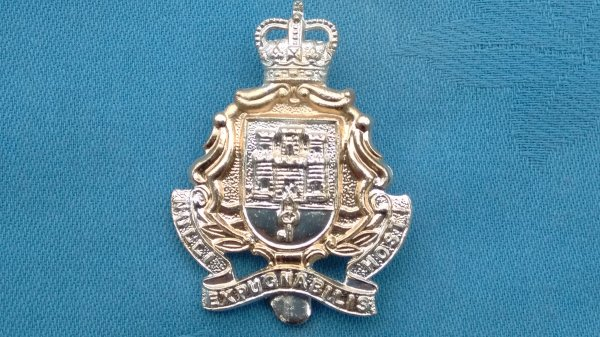 The Gibraltar Regiment cap badge.