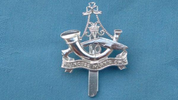 The 10th Gurkha Rifles cap badge.