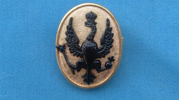 The 14th/20th Kings Hussars arm badge.