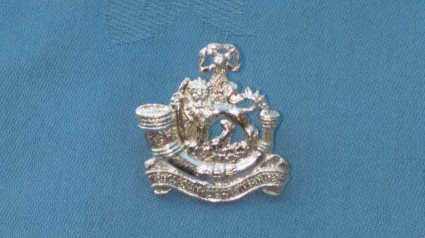 The Rhodesian Light Infantry cap badge.