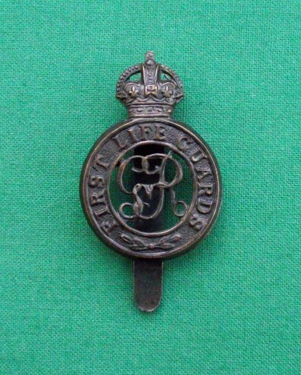 First Life Guards c.1913-22 Cap Badge