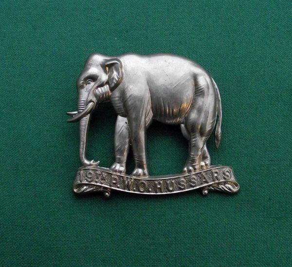 Genuine 19th POW Hussars c.1898-1902  Cap Badge