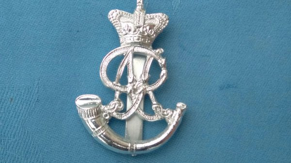 The Oxfordshire Territorials cap badge.