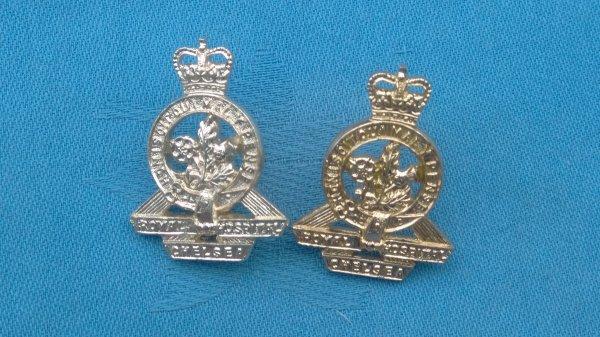 The Royal Chelsea Hospital collar badges.
