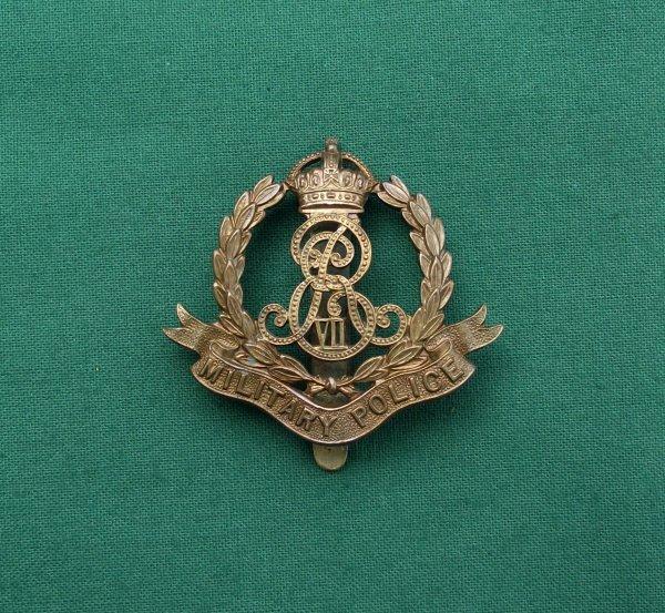 Scarce Edwardian Military Police Cap Badge EviiR