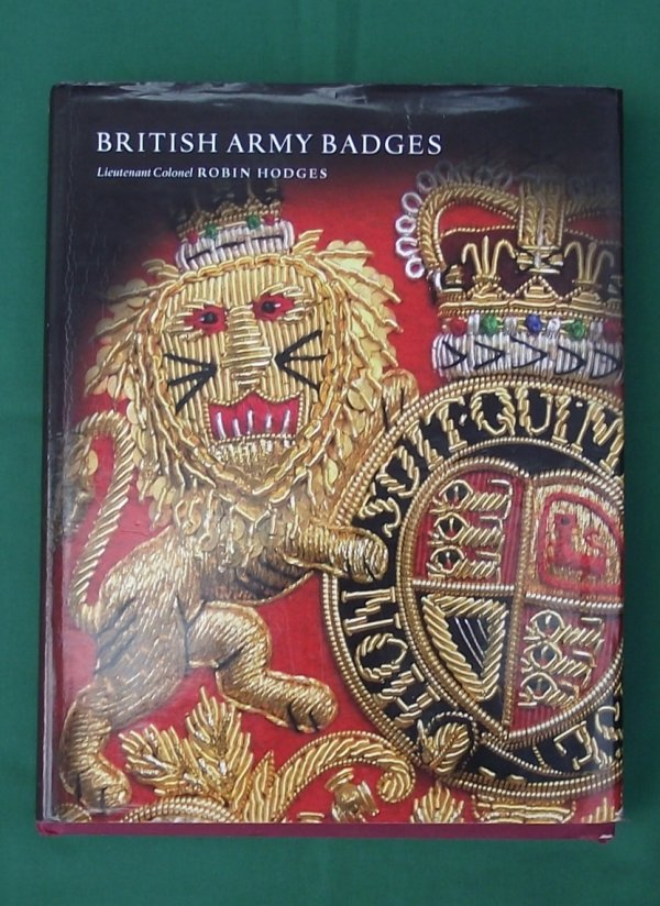 British Army Badges - Lt Col Robin Hodges