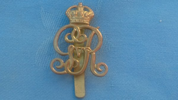 The Norfolk Yeomanry small cap badge.