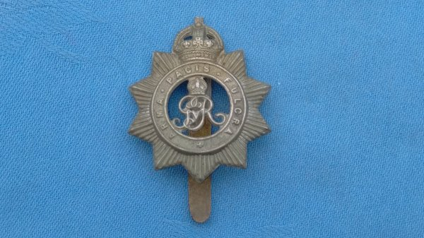 The North Somerset Yeomanry cap badge.