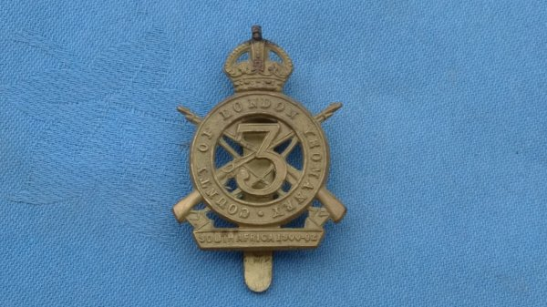 The 3rd County of London Yeomanry cap badge.