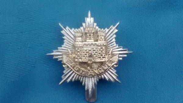The Anglian Brigade cap badge.