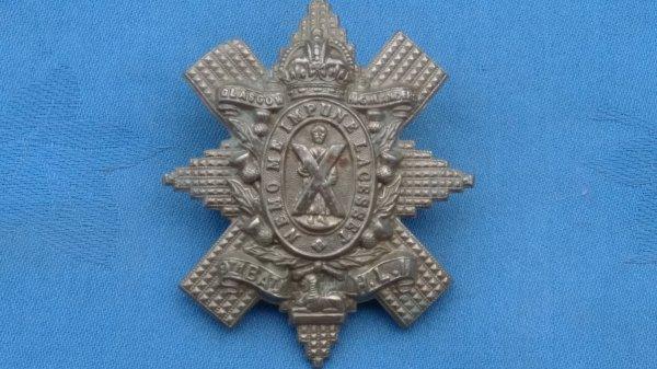 The 9th Battalion Light Infantry cap badge.