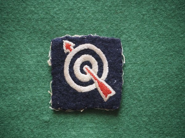 6th AA Div embroidered formation sign