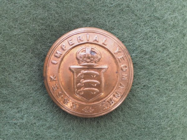 Essex Imperial Yeomanry GM tunic button