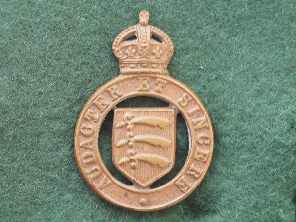 Essex Imperial Yeomanry GM cap / collar badge