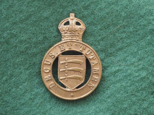 Essex Yeomanry GM collar badge