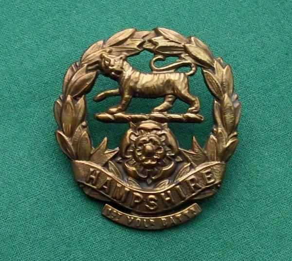 Genuine 1st Volunteer Bn (Winchester) The Hampshire Regt