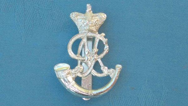 The Oxfordshire Territorials cap badge.