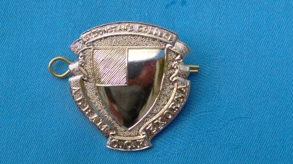 The St Dunstans College Combined Cadet Force cap badge.
