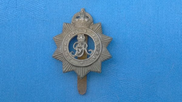 The North Somerset Yeomanry cap badge.