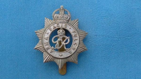 WW2.The North Somerset Yeomanry cap badge.