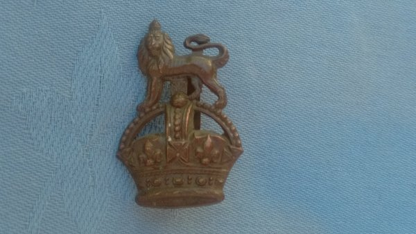 The General Service Officers Service Dress cap badge.
