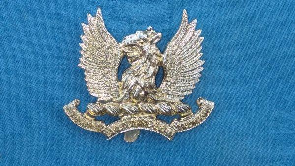 The Aryshire Yeomanrycap badge.