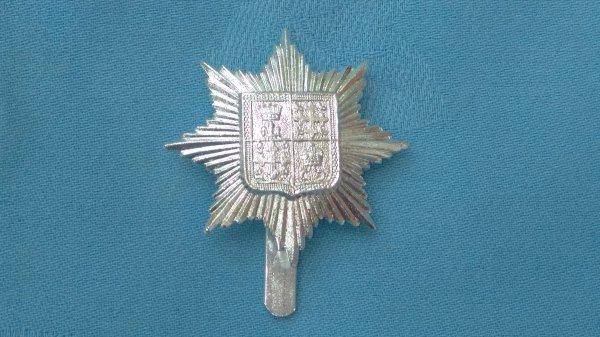 The 13th Battalion ( Princess Kensington ) London Regiment cap badge.