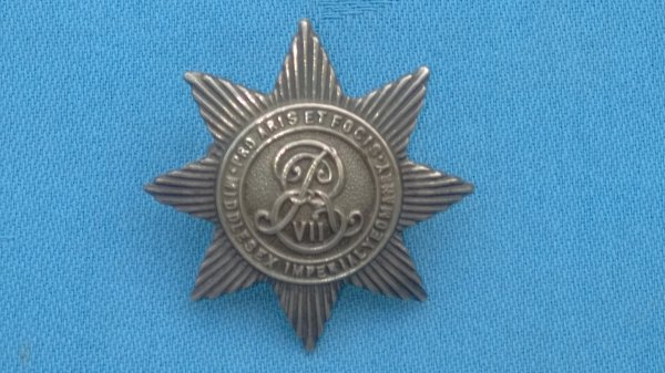 The Middlesex Imperial Yeomanry cap badge.