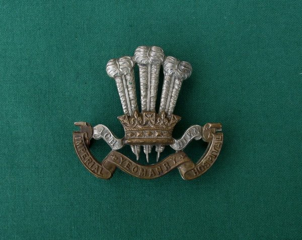 Imperial Hospital Yeomanry Cap Badge