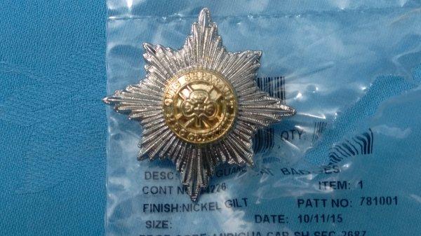The Irish Guards SNCO2 cap badge.